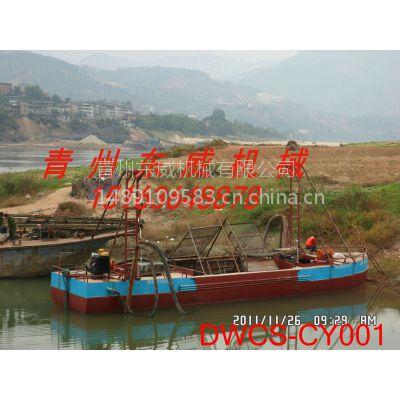 耐用抽沙船 抽沙运输一体船-东威DWCY抽沙运输船 船体材料完全符合国家标准