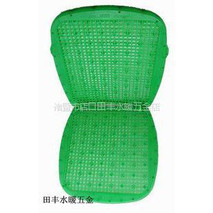 供应新款凉垫 夏季坐垫 精美塑料座垫 双层绿色PVC凉垫 透气座垫