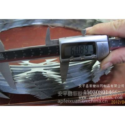 供应河北省哪里生产的刀片刺绳质量好安平菲璇丝网制品厂就是值得信赖
