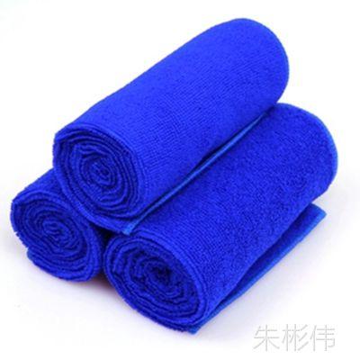 加厚汽车洗车毛巾 超细纤维毛巾 擦车巾 纳米小毛巾 65*33 CM