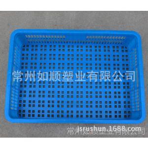 供应塑料运输筐 常州如顺厂家直销575-140塑料周转厚筐