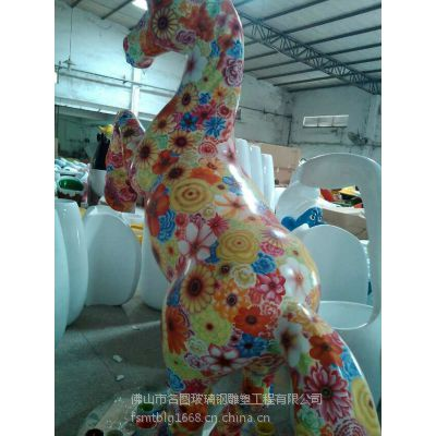 供应佛山名图雕塑 玻璃钢动物雕塑 批发
