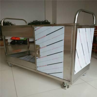 双桥双层不锈钢送餐车碗碟收集车 收餐车 酒店快餐店酒楼专用