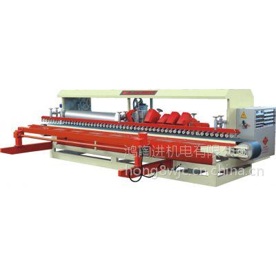 鸿发HF-R1200 14大头圆弧抛光机|佛山陶瓷加工机械生产厂家|加工梯级砖,全自动运行