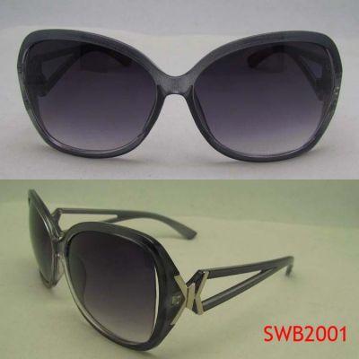 供应方形框架女士太阳镜  塑料全框 太阳镜 品牌眼镜框 台州厂家批发