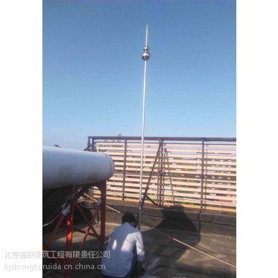 青龙湖避雷针安装【避雷针价格】避雷针施工案例图片