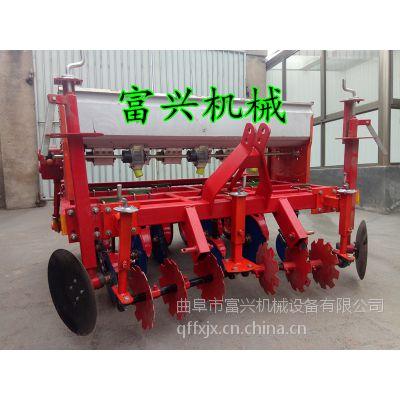 平阴县手推式汽油播种机 富兴不间苗玉米播种机 一次一粒精播机价格