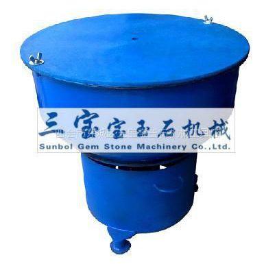 供应12寸铁斗震桶抛光机 玉石震动抛光机 振动抛光机 抛光震桶