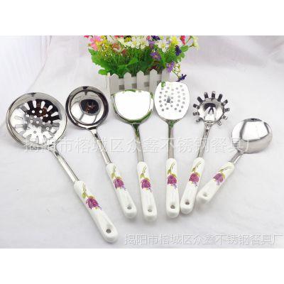揭阳厨具 韩国厨具套装 高档厨具 不锈钢陶瓷厨具 一件混批 批发