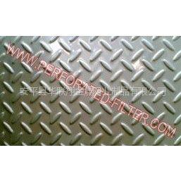 供应花纹防滑板材料:普通铁板、不锈钢板,铝板,铝合金板等金属板可以定制其他材质或规格、孔型。