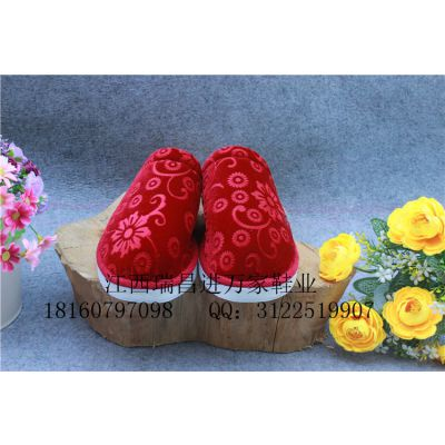 新款流行男女拖鞋低跟春秋冬季居家休闲保暖棉拖鞋泡沫底