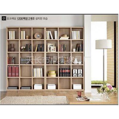 供应卓实家具适宜家居加厚2.5CM 1.8米书橱 书柜 储物柜 书架 隔断柜 古董架