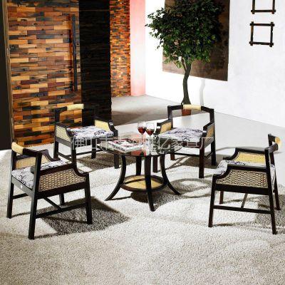 供应杭州藤家具 餐桌椅 休闲藤椅 酒店家具 手工编织 地中海风格