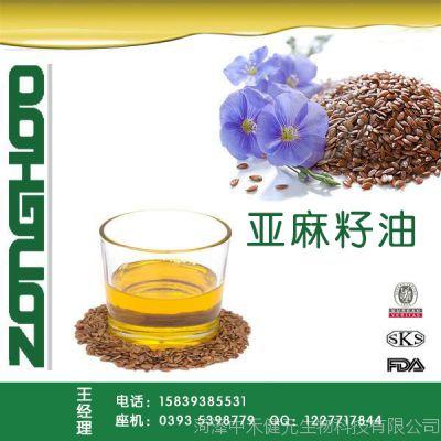 亚麻籽油 食用 l初榨 冷榨脱蜡 亚麻油