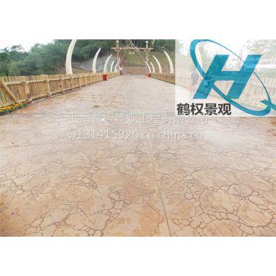 青州混凝土压模地坪艺术装饰特价