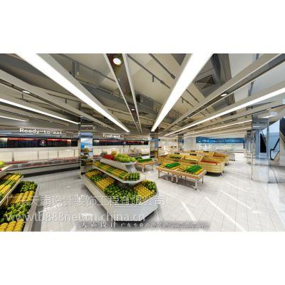 连云港超市装修客户应该如何看天霸设计合理透明的报价