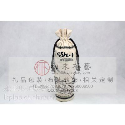 高档礼品型山茶油布类包装袋帆布手提袋复古型黄麻袋厂家定做