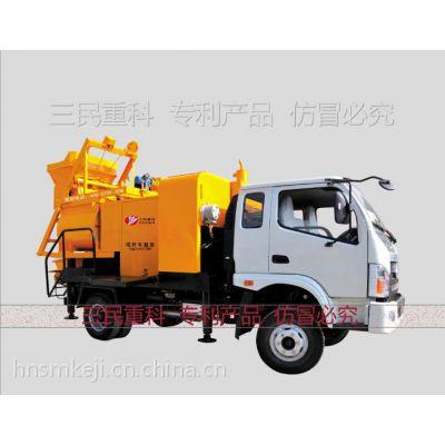 缩短施工周期的强制搅拌机拖泵、强制搅拌机拖泵价格