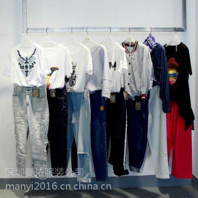 广州深圳欧美外贸原单女装批发工厂在哪?欧货欧洲站女装