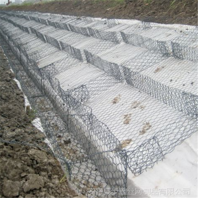 步鑫供应60×80高抗腐蚀镀高尔凡双隔板雷诺护垫 格宾网护垫 可定制
