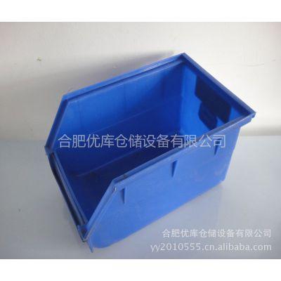 供应B4#背挂式零件盒 塑料收纳箱 螺丝盒 浙江塑料盒批发