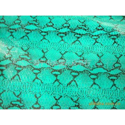 长期供应 印花 猪皮革 服装革