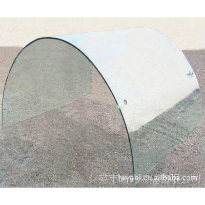 现货供应半圆玻璃半圆家装艺术玻璃价格优惠建筑深加工半圆玻璃