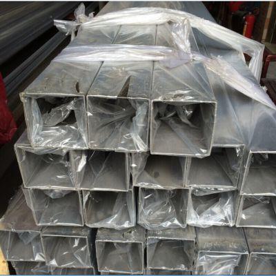 供应80*80不锈钢方管 304拉丝不锈钢管现货