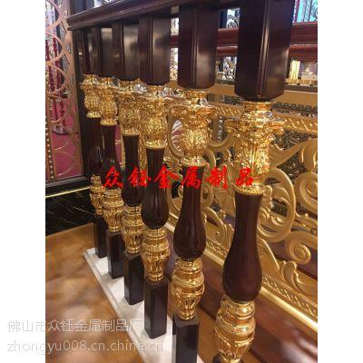 高档别墅纯铜铸造楼梯立柱[正品]