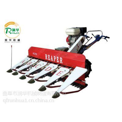 农作物割晒机 手推收割机 润华多功能割晒机
