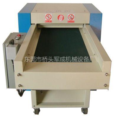 供应广州玩具加工设备专用打棉机军成机械