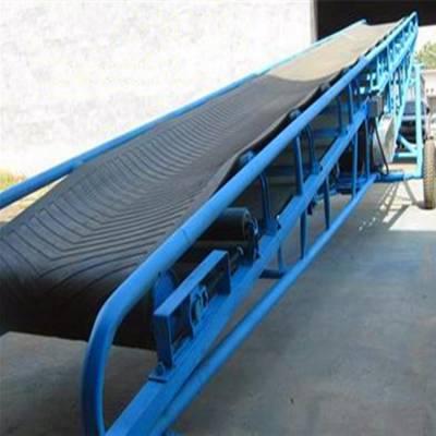 pvc皮带输送机 可移动爬坡输送机 新型纸箱装车输送机