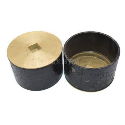 供应DN100铜防爆地漏 龙图牌直通地漏
