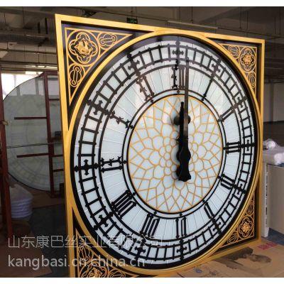 济南康巴丝钟厂供应照明建筑塔钟、景观钟