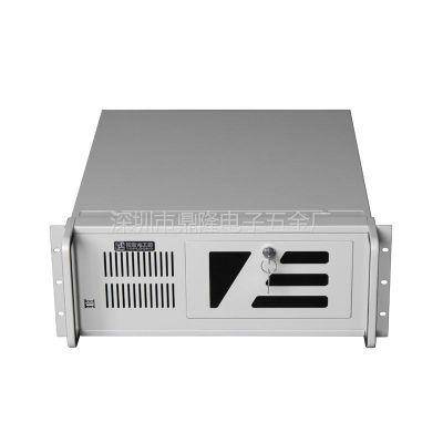 供应拓普龙TOP5008D工控机箱,l标准上架式4U工控机箱