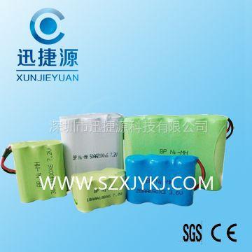 供应NI-MH 500maH 4.8V AAA镍氢组合电池