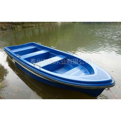 3米玻璃钢捕鱼船 玻璃钢农用船