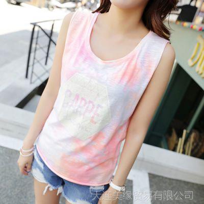 韩国代购正品夏装新款女装品牌Pinksisly-PS120346-T恤