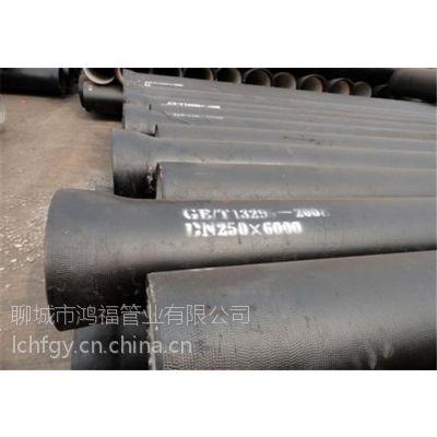 远安县给水管、K8型球墨管、DN200铸铁给水管报价