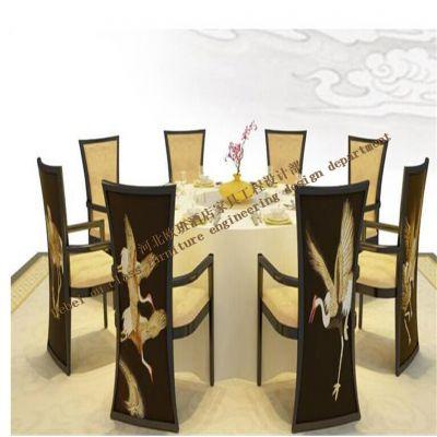 香河餐桌餐椅家具厂-新中式实木家具定制厂家/供应商-河北欧班家具厂