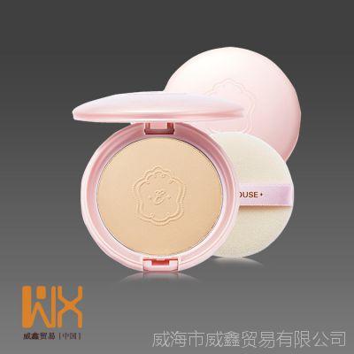 韩国代购 爱丽小屋珍珠美白防晒BB粉饼 控油保湿遮瑕定妆