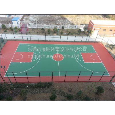 东凤健身广场硬地丙烯酸篮球场材料厂家直销 社区硬地彩色羽毛球场材料厂家直销