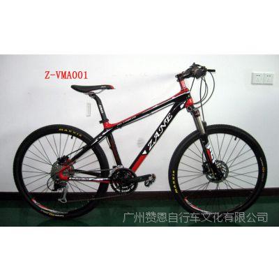 供应27速碳纤维超轻高档山地车 自行车加盟