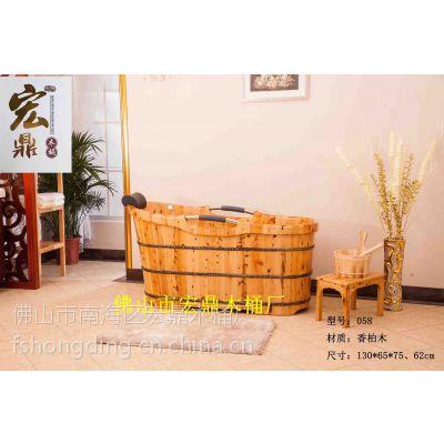 香柏木沐浴桶058进口橡木沐浴桶,足浴桶,蒸汽桶,欧式仿古桶,叠加桶桑拿房,泡澡桶,蒸脚桶