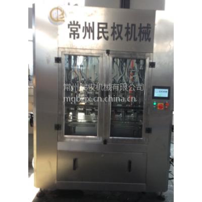江苏常州金坛民权CCP-12E称重反馈式高粘度全自动灌装机