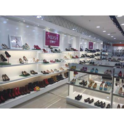 厂家批发定做鞋展柜 鞋子展示柜 鞋类展示架 木质烤漆展柜