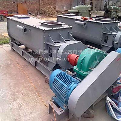 现货供应双轴搅拌机 2000型多功能干粉搅拌机 卧式混合拌料机