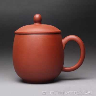 一公紫砂原产地直销100%黄龙山原矿紫砂无添加茶杯素韵杯清水泥