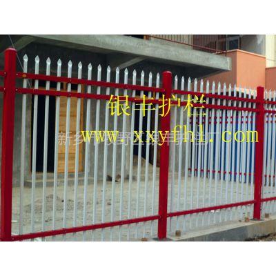 供应河南郑州焦作安阳工厂院墙围栏 别墅庭院围栏 锌钢方管围栏 欧式铁艺栏杆