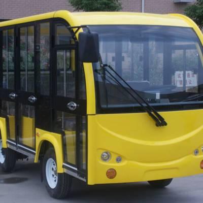 供应 电动封闭游览车JZT12-M 12座